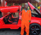 Young entrepreneur entrepreneur Jerry Issac Mallo created Africa's first-ever continental sports car.
