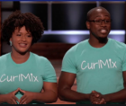 Tim and Kim Lewis, the founders and owners of CurlMix, appeared on ABC's Shark Tank
