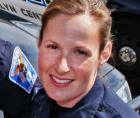 Kim Potter (above), the white police officer who shot and killed Daunte Wright