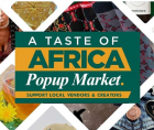 """Taste of Africa"", which is a part of the AFRICAN RESTAURANT WEEK movement."