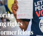 Governor Andrew Cuomo signed S.830B into law, which restores voting rights to parolees, post-incarceration.