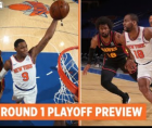 New York Knicks announced Thursday they've sold out their reduced-capacity tickets for Games 1 and 2