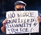 maintain and strengthen the provision to eliminate qualified immunity