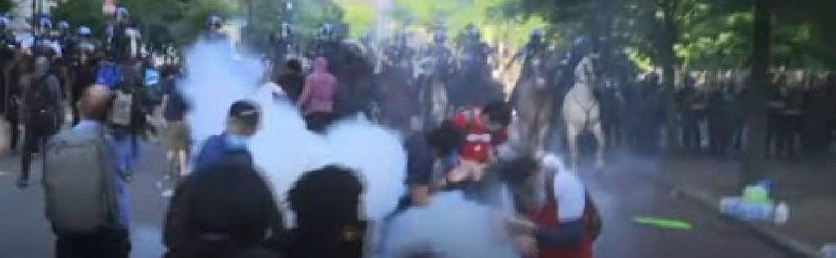 federal officials who ordered or participated in the violent June 1, 2020, attack on civil rights protestors at Lafayette Square