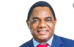 United Party for National Development (UPND) and their leader Hakainde Hichilema shown above