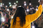 Missouri Congresswoman Cori Bush (shown above in yellow) released the following statement after more than a hundred community me