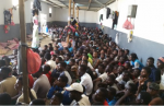rampant racist abuse of African migrants in Libyan detention centers