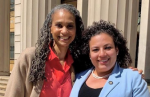 NY Assemblywoman Nathalia Fernández, candidate for Bronx Borough President, and Maya Wiley, candidate for New York City Mayor, d
