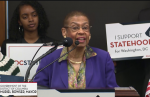 Congresswoman Eleanor Holmes Norton (D-DC) Tuesday thanked Planned Parenthood and the NAACP