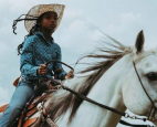 At age 11, Kortnee Solomon is already a pro on the rodeo trail, having won numerous championships in recent years.
