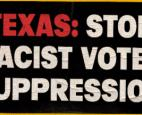 A lawsuit was filed Tuesday against six Texas county election offices,