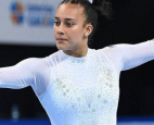 Luciana Alvarado is using her historic Olympic appearance to promote equality with a tribute to the Black Lives Matter movement.