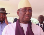 Sidya Touré, leader of the Union of Republican Forces (UFR) party,