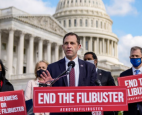 Democratic lawmakers are debating the merits changes in the filibuster rule