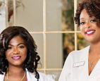 Meet Kimba Williams, MBA, and Dr. Barbara McLaren, a Board-Certified OB/GYN, the founders of Kushae