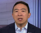 Democratic mayoral hopeful Andrew Yang
