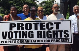 People's Organization For Progress (POP) will have a press conference to call for protection and strengthening of voting rights