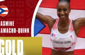 Jasmine Camacho-Quinn broke an Olympic record and won a gold medal in Tokyo