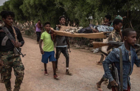 It was recently reported that young men are taking up arms in Ethiopia's Amhara region