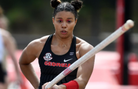 Kayla Smith is weeks away from her final pole vault competition
