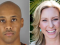 former Minneapolis police officer (Mohamed Noor shown above left) who fatally shot an Australian woman (Justine Damond above rig