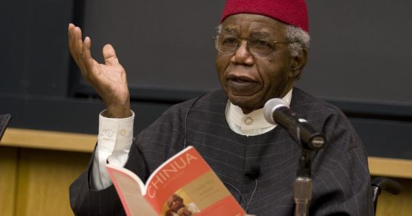 CHINUA ACHEBE, the father of OKONKWO, one of the greatest characters created in literature, has died.