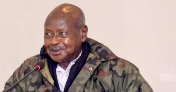 Gen. Museveni, the kleptocratic leader of 34 years fears that he might fail to get 51% of the required vote to avoid a runoff