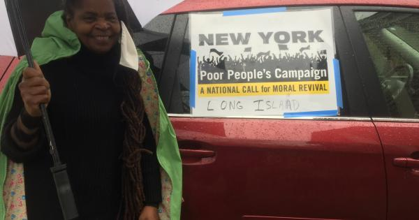 New York Poor People's Campaign: A National Call for Moral Revival joined a national Moral Monday caravan