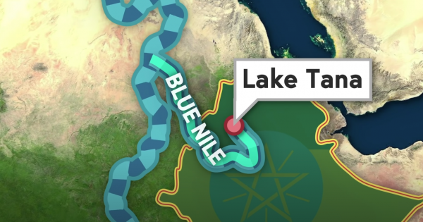 """The White Nile and Blue Nile Rivers become """"The Nile"""""""