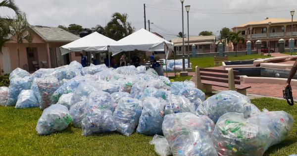 plastic waste management in the Caribbean
