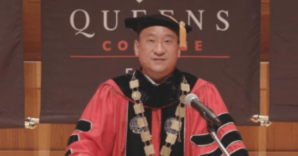 Queens College marked its 97th commencement with a virtual presentation on Thursday, June 3 at 9 am. President Frank H. Wu presi