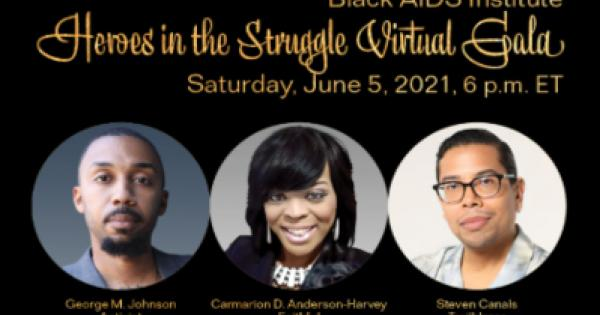 HIV in Black America, will host their annual fundraiser, Heroes In The Struggle, on June 5th.