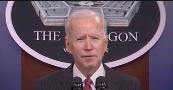 Did you really think that electing Joe Biden would mean major reductions in military spending and the shift of Pentagon resource