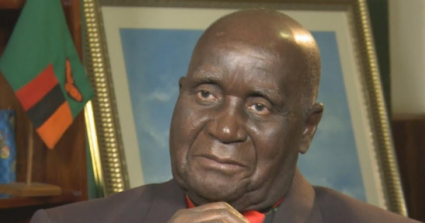 Zambia's first president Kenneth Kaunda, 97, has been admitted to hospital, his office announced Monday