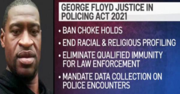 The George Floyd Justice in Policing Act was conceived and created with a focus on accountability and contains provisions overwh