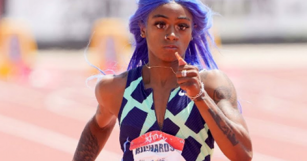 In a world that makes sense, Sha'Carri Richardson would be competing in the Olympics.