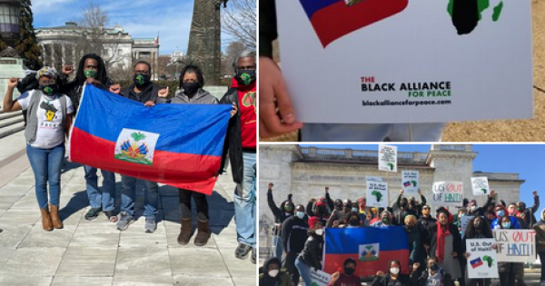 BAP vigorously opposes any and all foreign institutions and structures intervening in Haiti. The Haitian people must be allowed