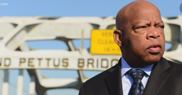 John Lewis nearly died in the struggle to pass the national Voting Rights Act