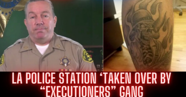 """violent gang of law enforcement officers, who call themselves the """"Executioners,"""" operating within the Los Angeles Sheriff's Dep"""