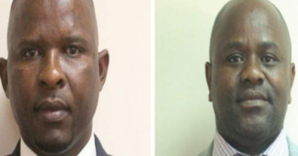two members of the Eswatini Parliament, Mduduzi Bacede Mabuza and Mthandeni Dube, who face trumped-up charges