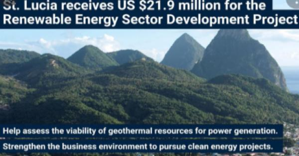 World Bank Board of Executive Directors approved yesterday US$21.9 million for the Renewable Energy Sector Development Project f