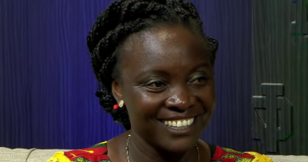 Victoria Nyanjura was abducted from her Catholic boarding school in northern Uganda by members of the Lord's Resistance Army