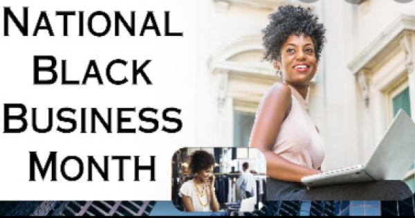 National Black Business Month