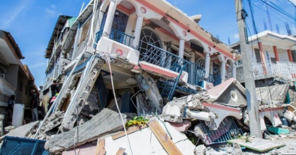 7.2 earthquake which struck Haiti Saturday, where the death toll now stand at over 700.