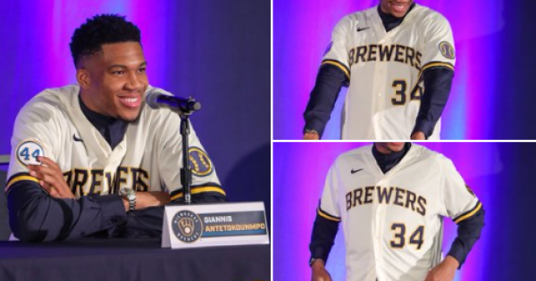Milwaukee Bucks superstar Giannis Antetokounmpo has purchased a stake in the Milwaukee Brewers