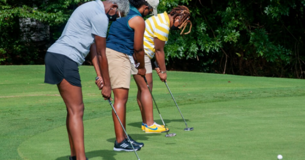 Black Girls Golf (BGG), the largest, non-competitive golf community in the United States for African-American women and girls,