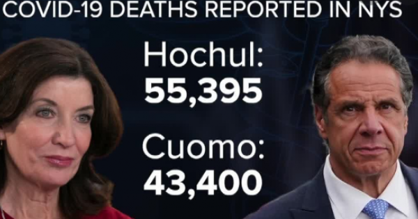 Governor Kathy Hochul acknowledged that there were some 12,000 more deaths from COVID-19 than were counted by former Governor An