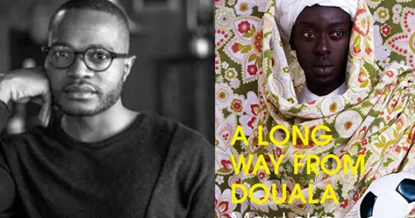 A LONG WAY FROM DOUALA, a newly translated novel by author Max Lobe