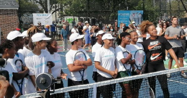 Osaka Returns To Queens Tennis Roots Ahead Of Monday Match