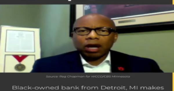 Detroit-based First Independence Bank is one of only 18 Black-owned full-service banks